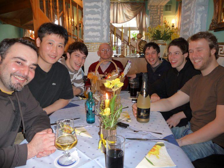 1. Herren mit Geburtstagsgeschenk 2009