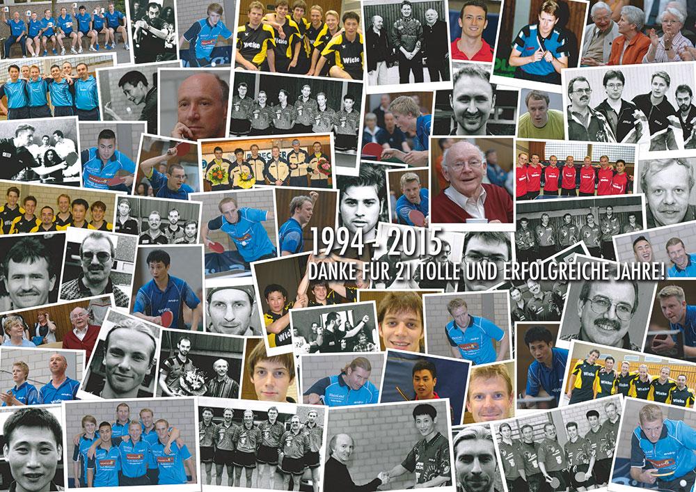 1944 - 2015 - 21 Jahre Regionalliga