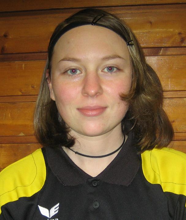 Vereinsmeisterin 2009 Nadine Midel