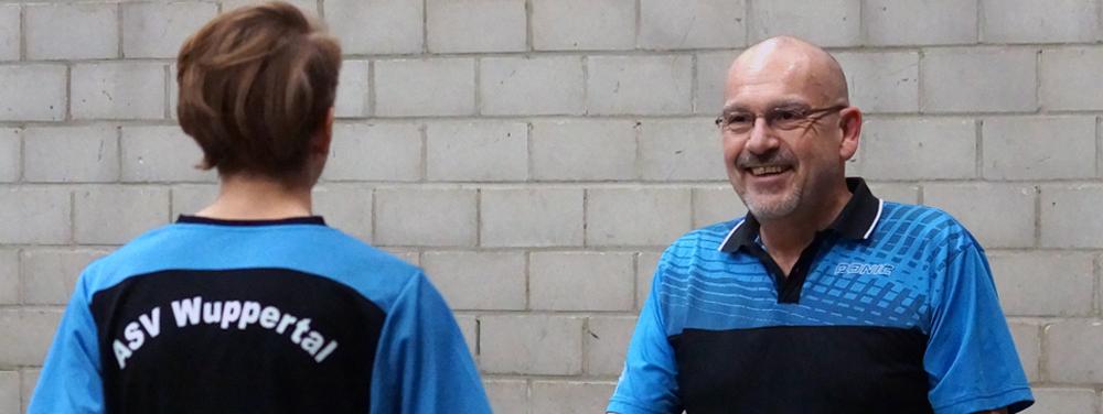 Herzlich Willkommen beim ASV Wuppertal Tischtennis