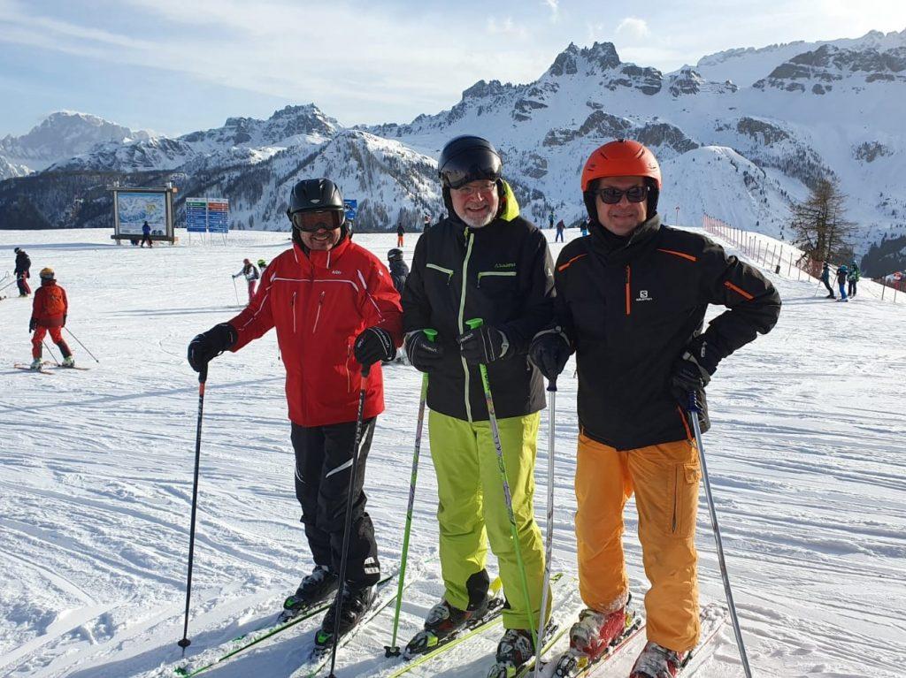 Skiurlaub Rode, Volker, Uli